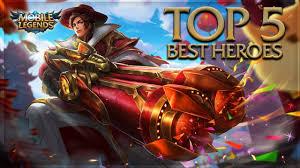 Mobile Legends Mobile Legends Top 5 Best Heroes Mobile Legends Needs