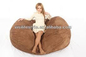 6ft xxl soft love sac microsuede foam bean bag bed buy foam bean