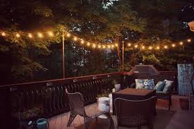 hanging outdoor string lights diy hanging outdoor string lights debbiedoos outdoor hanging deck