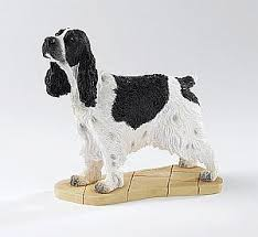 springer spaniel ornament figurine springer spaniel