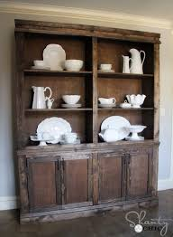 How To Build A Display Cabinet by Ana White Shanty Hutch Diy Projects