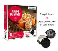 abonnement box cuisine coffret cadeau cuisine du monde box gastronomie vivabox