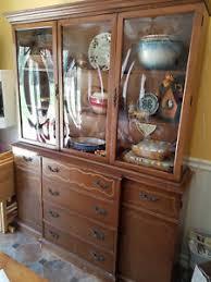 mahogany china cabinet furniture vintage mahogany china cabinet closet 1960 s bubble glass secretary