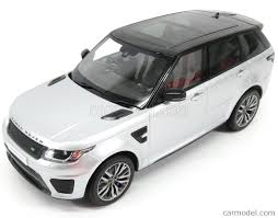 range rover silver 2016 kyosho 09542s scale 1 18 land rover range rover sport svr 2016