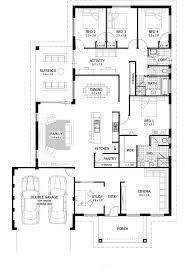 three bedroom two bath house plans 3 bedroom 4 bath house plans traintoball