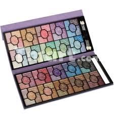Eyeshadow Qianyu 100 color style pro makeup eyeshadow palette and brush set