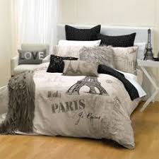 paris bedroom decor french inspired girls bedroom in gray and red decorating theme