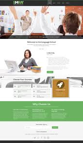 foreign language teaching joomla template 51010