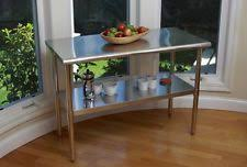kitchen islands stainless steel stainless steel kitchen island ebay