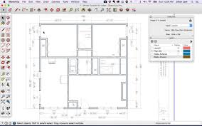 Floor Plan Icons by Sketchup Floor Plan Tutorial Doors And Windows