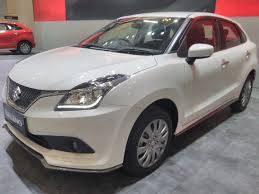 jakarta 2017 mitsubishi to export india made suzuki baleno heads into indonesia in august at giias 2017