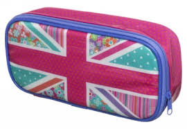 pencil cases whsmith festival pink floral union fille whsmith