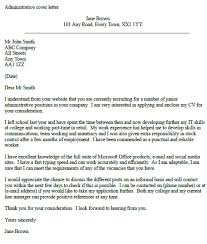 examples of cover letters college students sample with regard to
