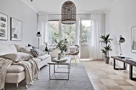 monochromatic living rooms living rooms gorgeous scandinavian living room in white 20