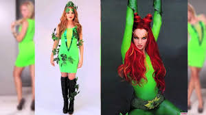 Best 25 Poison Ivy Make Up Ideas On Pinterest Poison Ivy Make by Halloween Poison Ivy Inspired Costume Diy Youtube