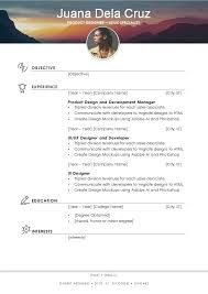 basic resume template docx files free elegant resume cv template in ms word docx format