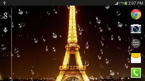 free live halloween wallpaper rainy paris live wallpaper pro android apps on google play