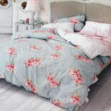 shabby chic hydrangea rose king duvet no shams comforter cover
