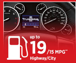 2016 toyota tundra mpg 2016 toyota tundra truck performance features specifications