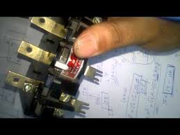 control wiring for dol starter youtube