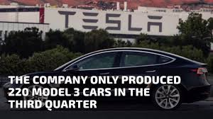 tesla u0027s model 3 production figures are disappointingly low youtube