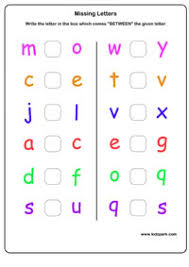 between letter worksheets play activity sheet teachers