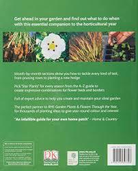 rhs gardening through the year ian spence 8601200495317 amazon