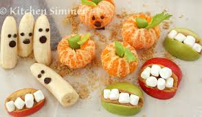 kitchen simmer kids in the kitchen halloween fruit treats