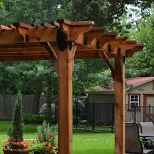 Backyard Vineyard Design by Design Craft Millworks 10 Ft X 12 Ft Diy Western Red Cedar