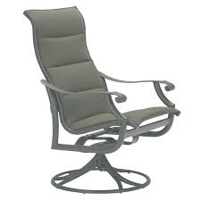 Swivel Patio Dining Chairs Tropitone Montreux Swivel Patio Dining Chair Wayfair
