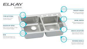 elkay faucets kitchen custom stainless steel kitchen solutions elkay