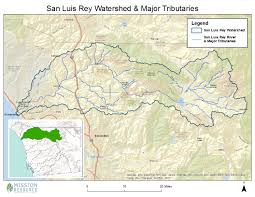 San Diego City Council District Map by San Luis Rey Watershed
