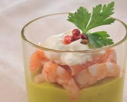 cuisine de a a z verrine recette verrines de crevettes au guacamole
