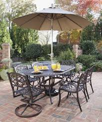 patio table and chairs with umbrella hole patio table with umbrella hole and chairs best home template