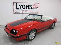 1986 mustang gt convertible 1986 bright ford mustang gt convertible 50230602 gtcarlot