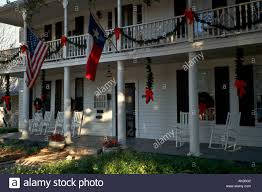 Colonial Style Home Colonial Style Bed And Breakfast Home With White Columns And