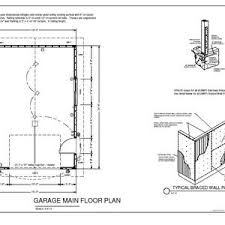 attached 2 car garage plans x garage plan blueprints cabin plans detached shop resident
