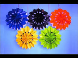 Easy Diy New Year Decorations by Diy Party Decorations Easy Crafts For Kids 3d Paper Flowers