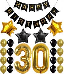 50th birthday party decorations buy 30th 50th birthday party decorations kit with sparkling