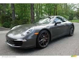 grey porsche 911 2013 agate grey metallic porsche 911 carrera 4s coupe 103902728