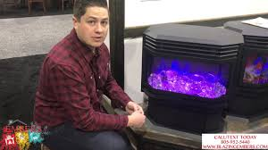 amantii sierra flame electric fireplace stove free stand product