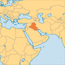Yellow River On World Map by Iraq Operation World