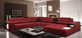 Modern Line Furniture Reviews by Modern Italian Design Sectional Sofa Tos Lf 2205