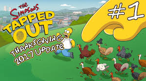 the simpsons tapped out thanksgiving 2017 update 1