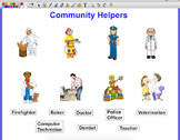 community helpers and their tools matching worksheet tpt