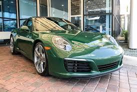 porsche british racing green british racing green 991 facelift porsche