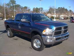 2010 dodge ram 2500 power wagon crew cab 4x4 in deep water blue