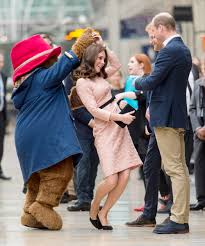 kate middleton dances paddington bear instyle