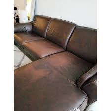 Chocolate Brown Sectional Sofa With Chaise Macy S Chocolate Brown Leather Sectional Sofa Aptdeco