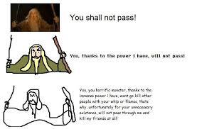 Memes Explained - you shall not pass explained meme memes and dankest memes